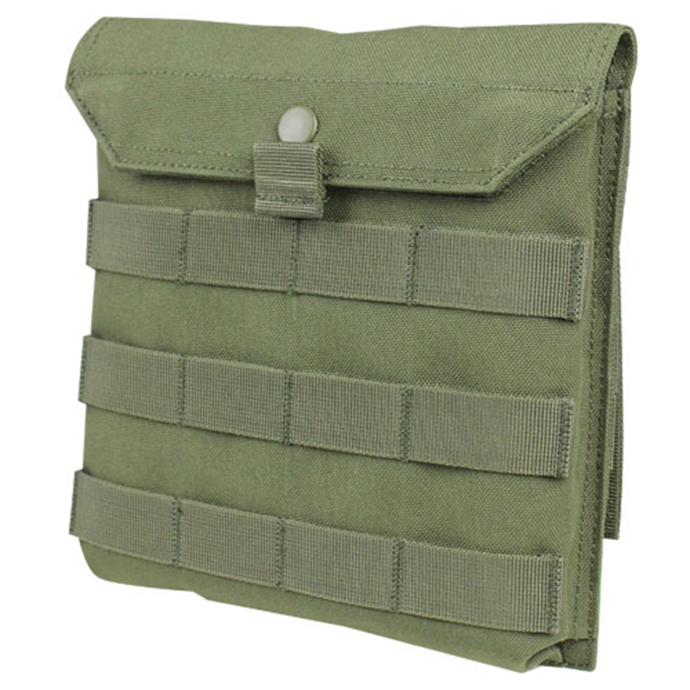 Condor #MA75 MOLLE Side Plate Panel Carrier Pouch - OD Green