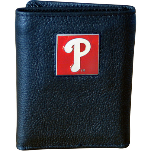 MLB - Executive Tri-Fold Wallet in Collector's Tin, Phildelphia Phillies