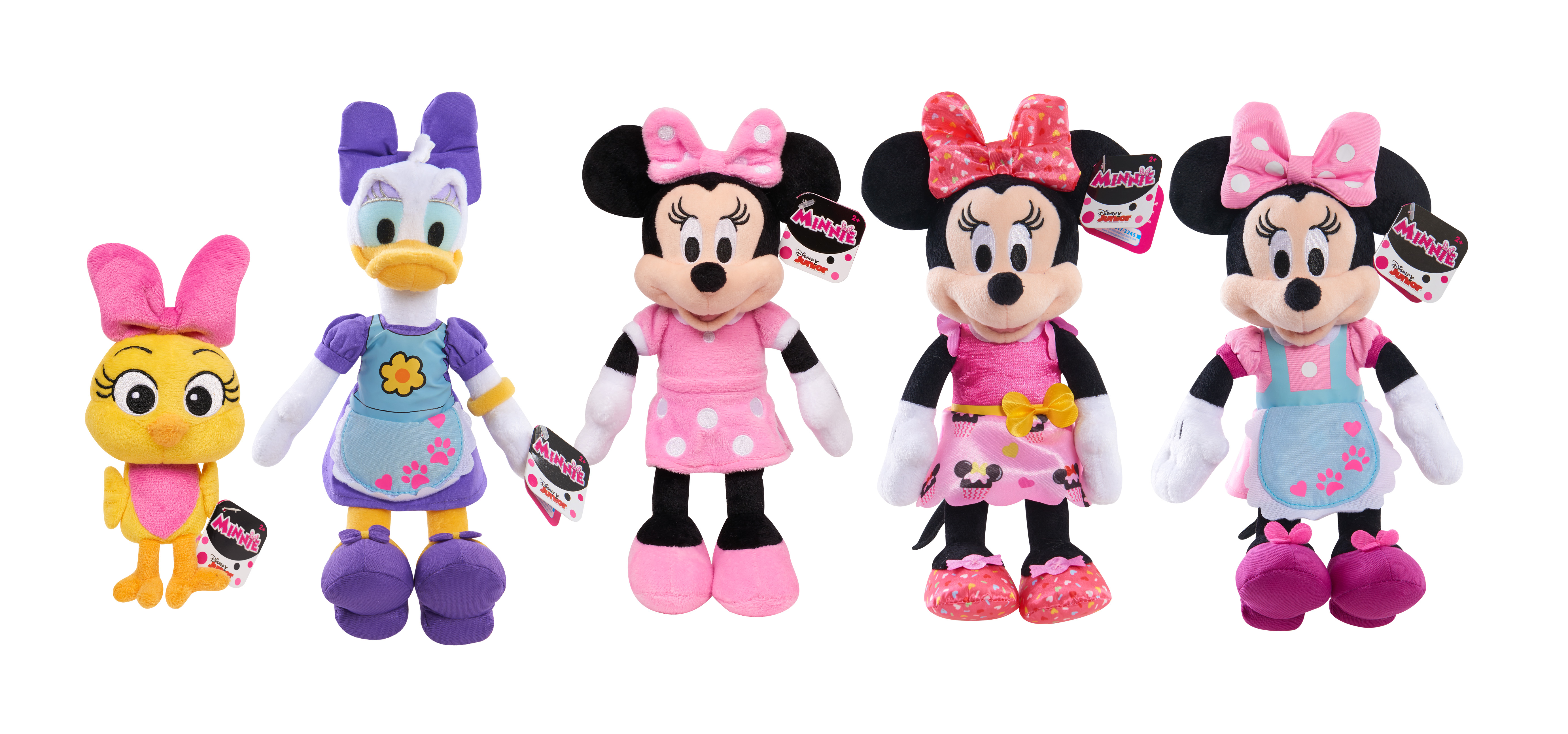 Disney Minnie Mouse Beanbag Plush Assortment, Styles May Vary by Just Play