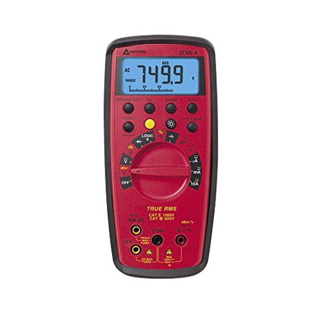 Amprobe 37XR-A True RMS Digital Multimeter with Component Logic
