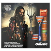 Gillette Fusion Razor Justice League Shave Gift Pack - 5 Pc
