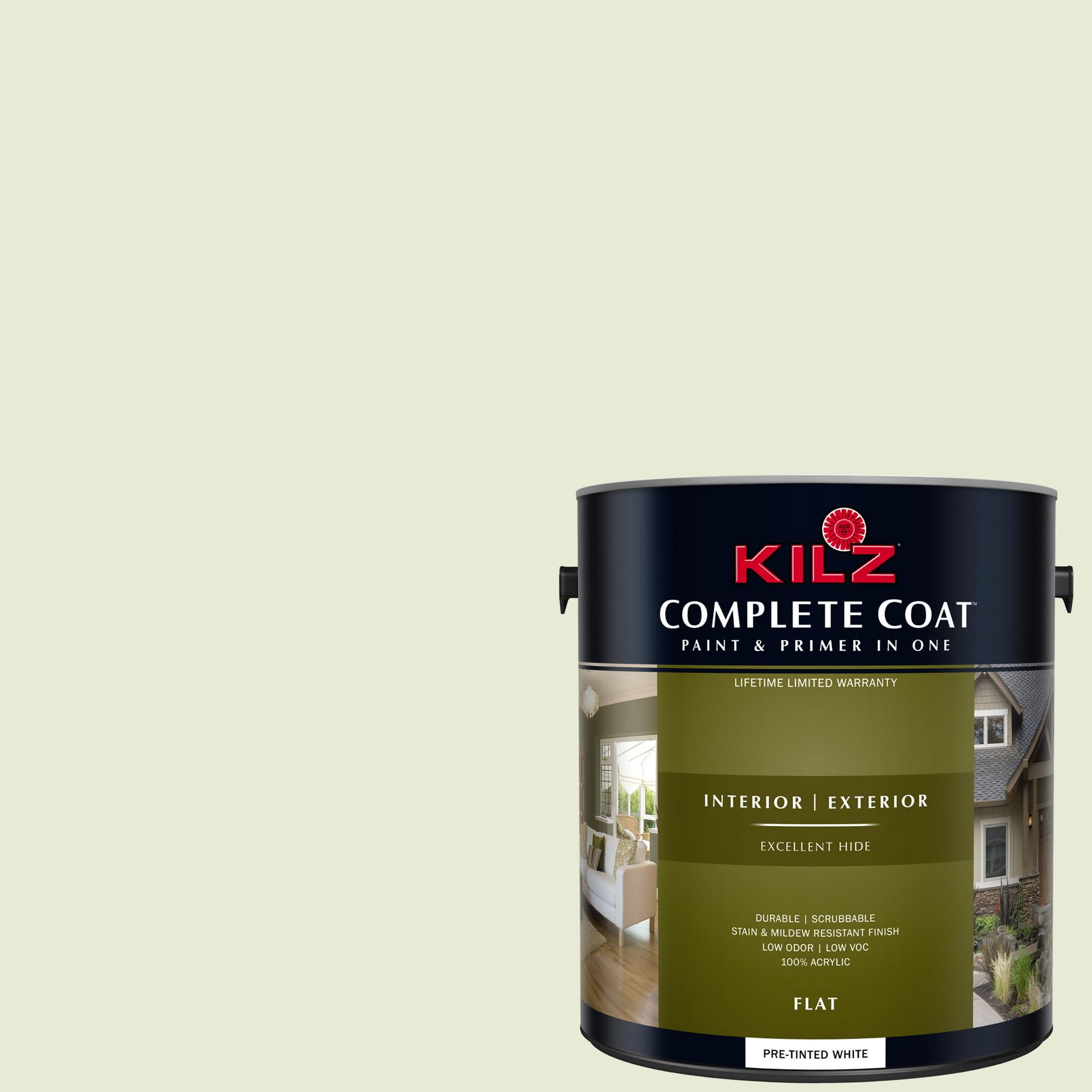 KILZ COMPLETE COAT Interior/Exterior Paint & Primer in One #LF200-02 Healing Springs