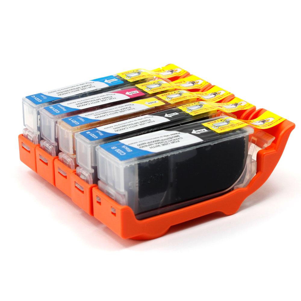 Canon Pixma Mx870 Ink Cartridge Set Compatible Walmart Com