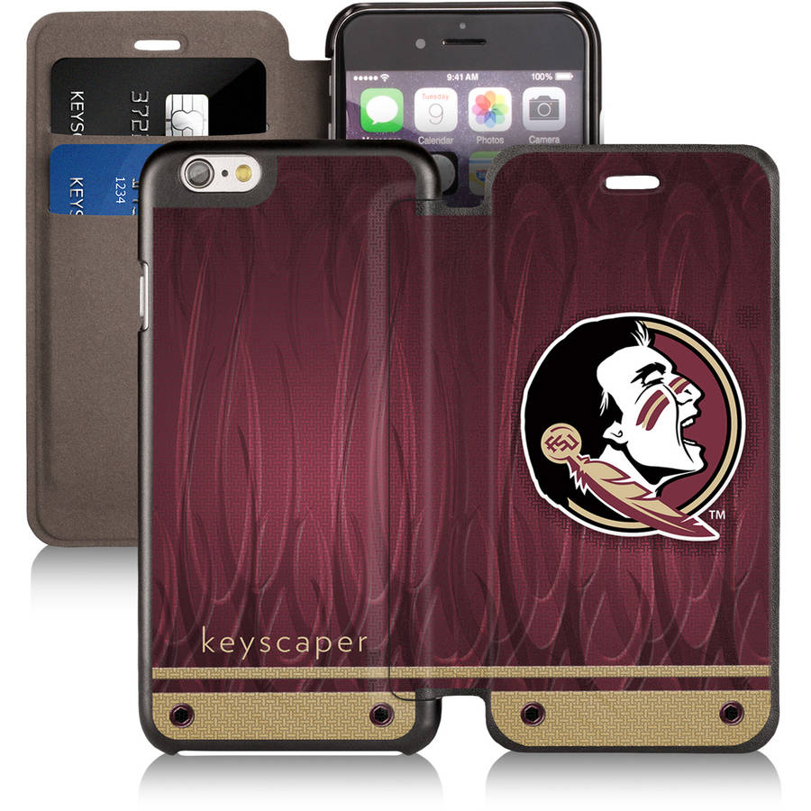 Florida State Seminoles Apple iPhone 6 Wallet Case by Keyscaper