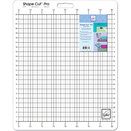 "June Tailor Shape Cut Pro Ruler, 20"" x 23"""