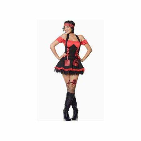 Seven 'til Midnight Pirate Hottie Costume 10101R Red/Black](Seven Til Midnight Costumes)
