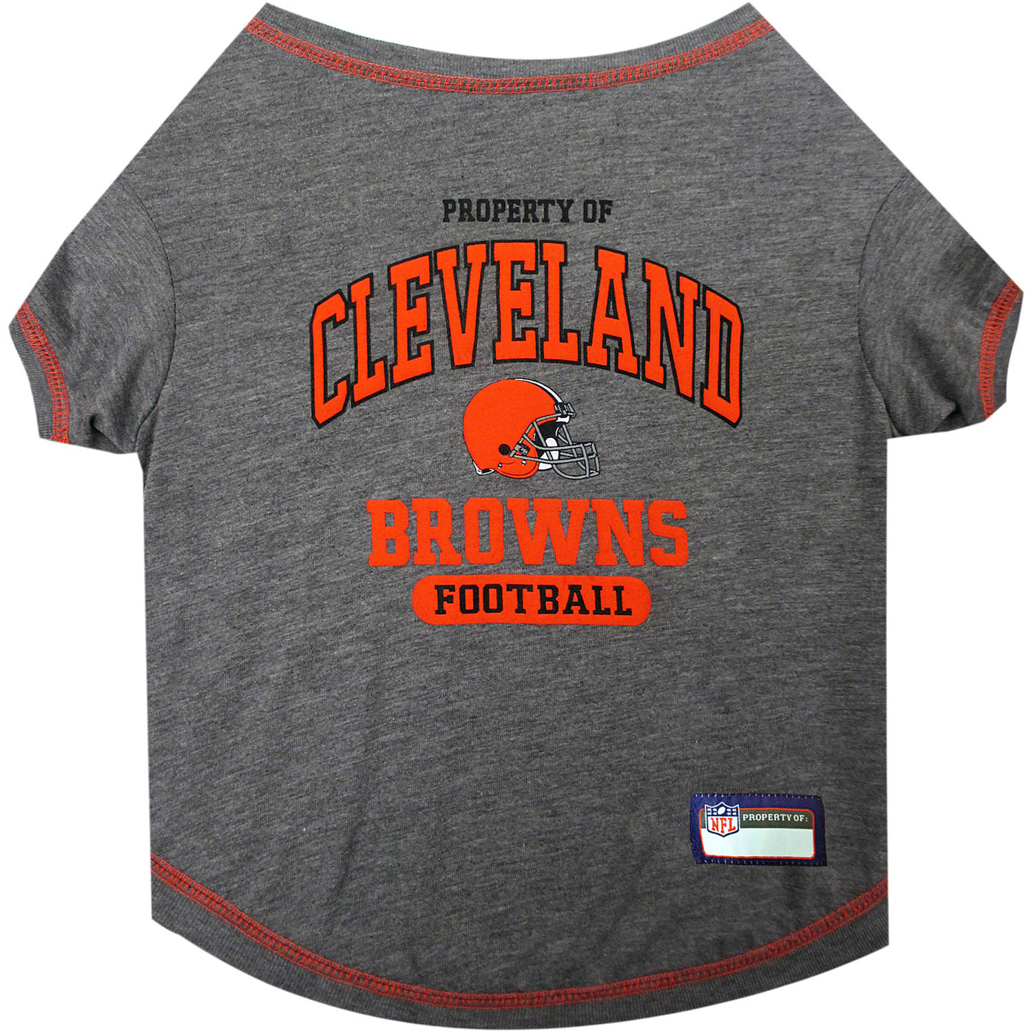 Pets First NFL Cleveland Browns Pet T-shirt, Assorted Sizes