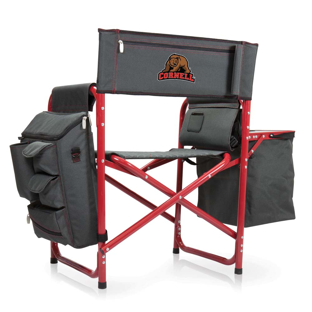 Cornell Fusion Chair (Dk Grey/Red)