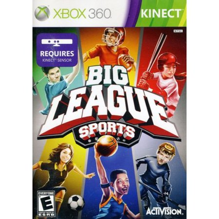 Big League Sports For Kinect   Xbox 360