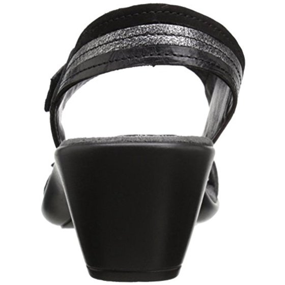 72cfab11 Romika - Womens Gorda 05 Leather Slingback Dress Sandals - Walmart.com
