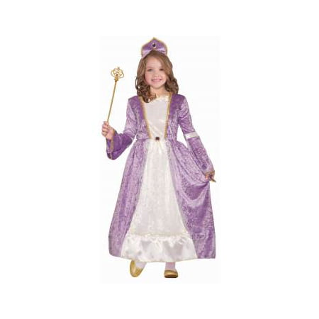 Girls Princess Peyton Purple Halloween Costume - Girl Customs