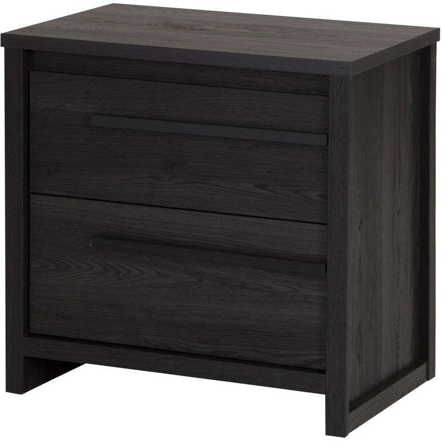 South Shore Tao 2-Drawer Nightstand, Multiple Finishes