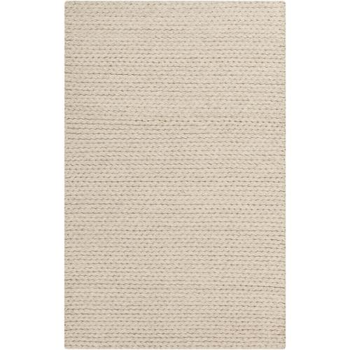 Hand-Woven Gerard Country Felted Wool Rug (8' x 10') Beige-(8' x 10')