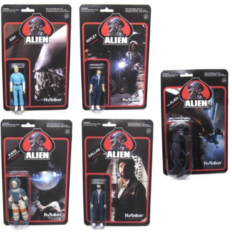 Alien Funko Reaction Action Figure Set Of 5 by