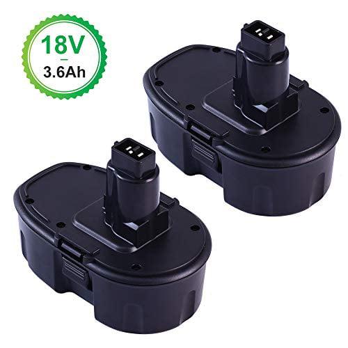 3.6AH 18V Ni-MH Battery for Dewalt 18Volt XRP DC9096 DC9099 DC9098 DE9096 drills