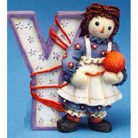 Raggedy Ann and Andy - Y Is For Yarn, By Raggedy Ann Andy