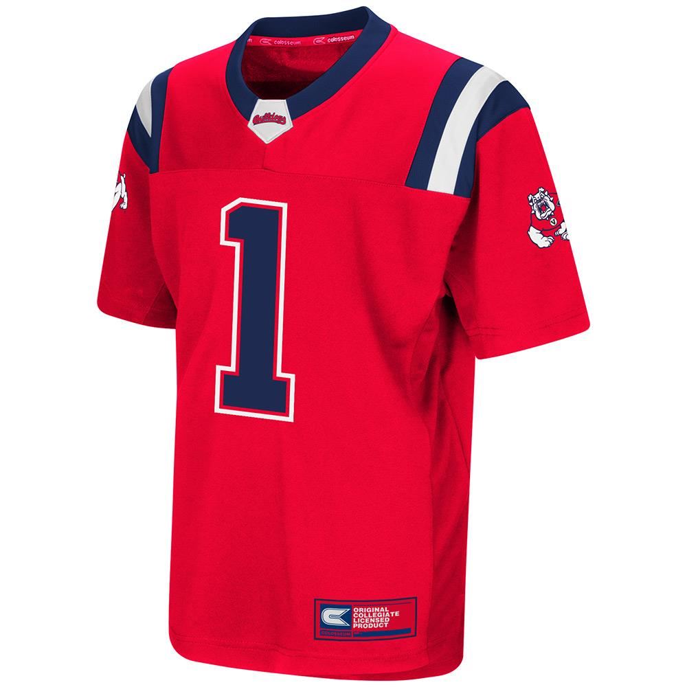 Youth Fresno State Bulldogs Football Jersey - S