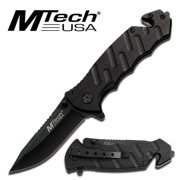 Best Mtech USA Knives - MTECH USA Manual Folding Stainless Steel Rescue Knife Review