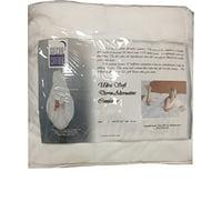 "Gotcha Covered Ultra Soft Down-Alternative Comforter Full XL 82""x86"" White"