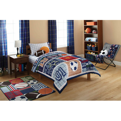 Mainstays Kids Comforter, All Star