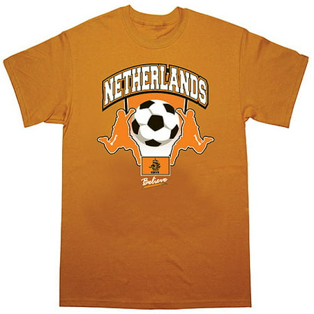 Netherlands Soccer Orange T-Shirt