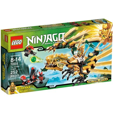 Lego Ninjago The Golden Dragon Play Set Walmartcom