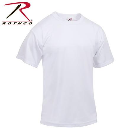 dacd26b88d1 Rothco Quick Dry Moisture Wicking T-Shirt - White