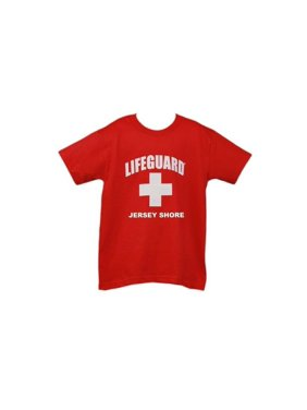 facd784d3f5a Product Image Lifeguard Kids Jersey Shore NJ T-shirt Official Junior Life  Guard Tee Red Sma.