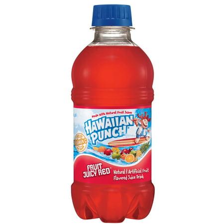Halloween Red Punch Recipe Alcoholic ((24 Bottles) Hawaiian Punch Fruit Juicy Red, 10 Fl)