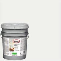 Glidden Ceiling Paint, Grab-N-Go, Interior Paint, White, Flat Finish