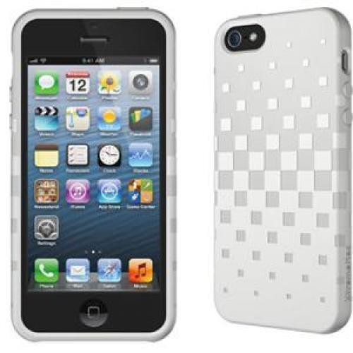 Memorex 02813 XtremeMac Tuffwrap TPE iPhone 5 Case (White) - NEW