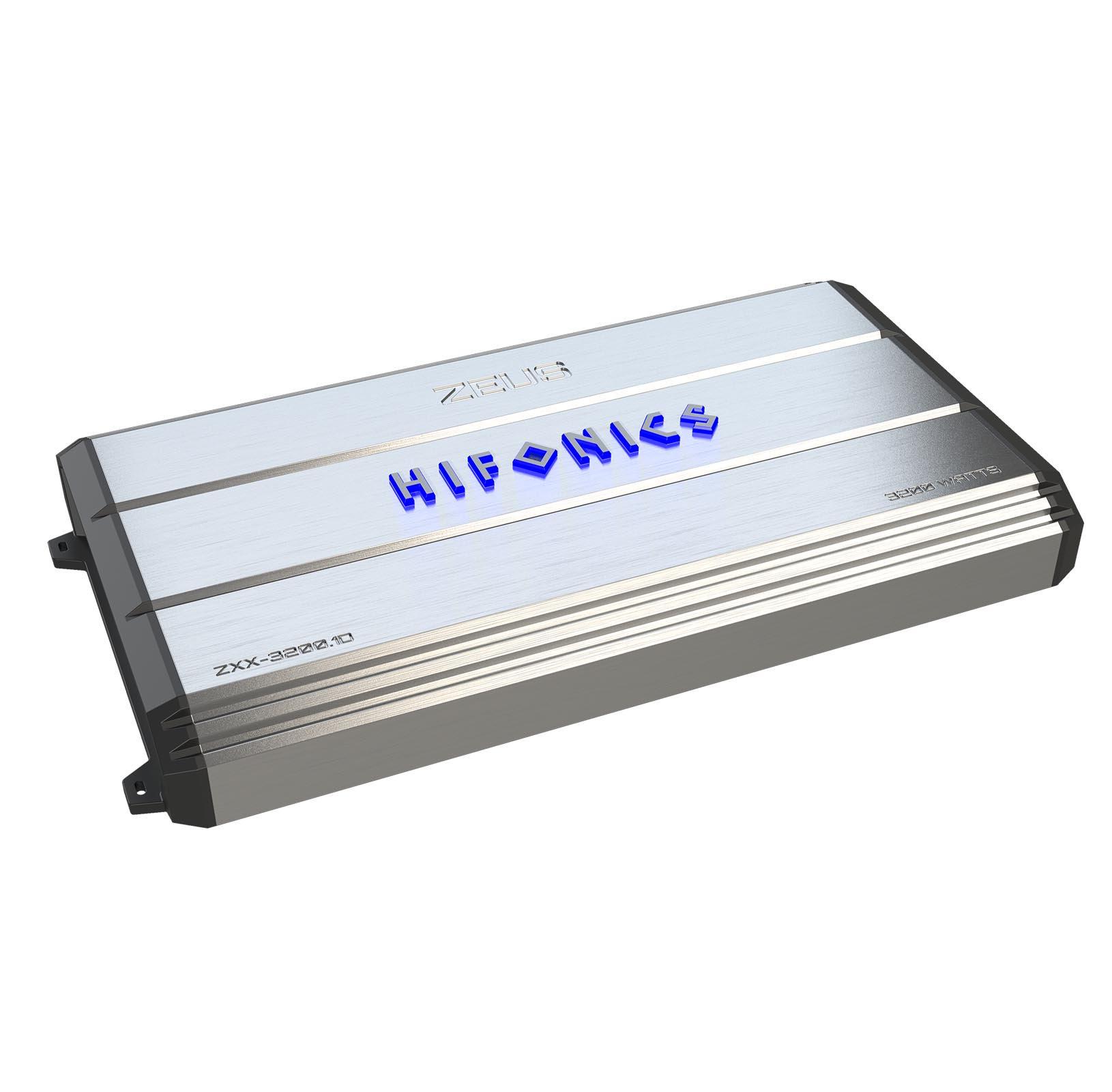 Hifonics Zeus 3200-Watt Max Class D Monoblock Car Audio Amplifier | ZXX-3200.1D