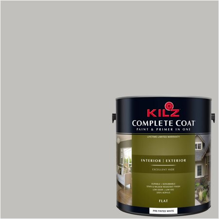 KILZ COMPLETE COAT Interior/Exterior Paint & Primer in One #RK140 Sugared (Heritage Bronze Finish)