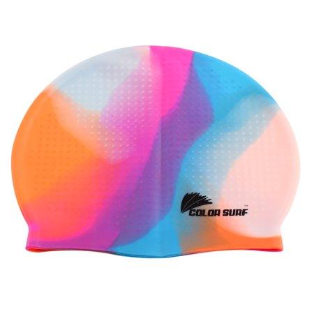 c478f530022 Unique Bargains Adult Silicone Elastic Water Resistant Surfing Swim  Swimming Cap Hat - Walmart.com