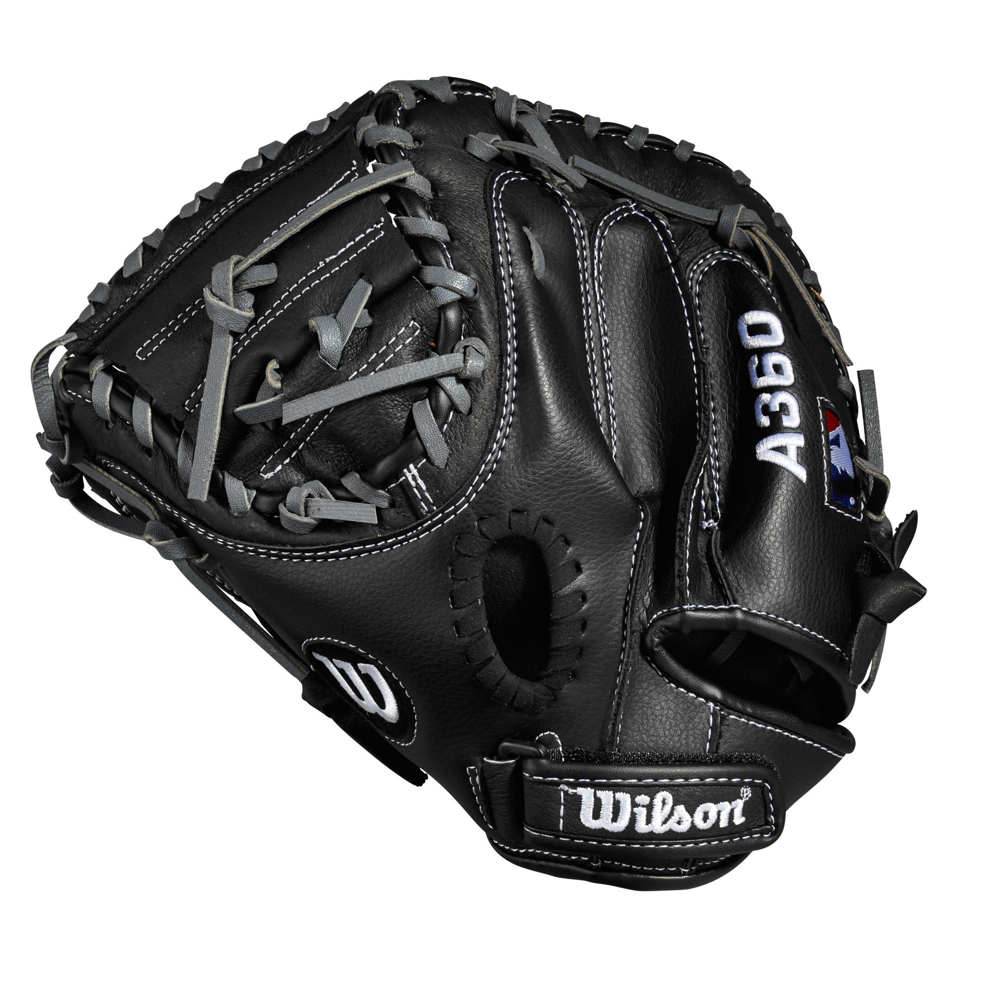 """Wilson A360 32.5"""" Catchers Mitt, Left Hand Throw"""