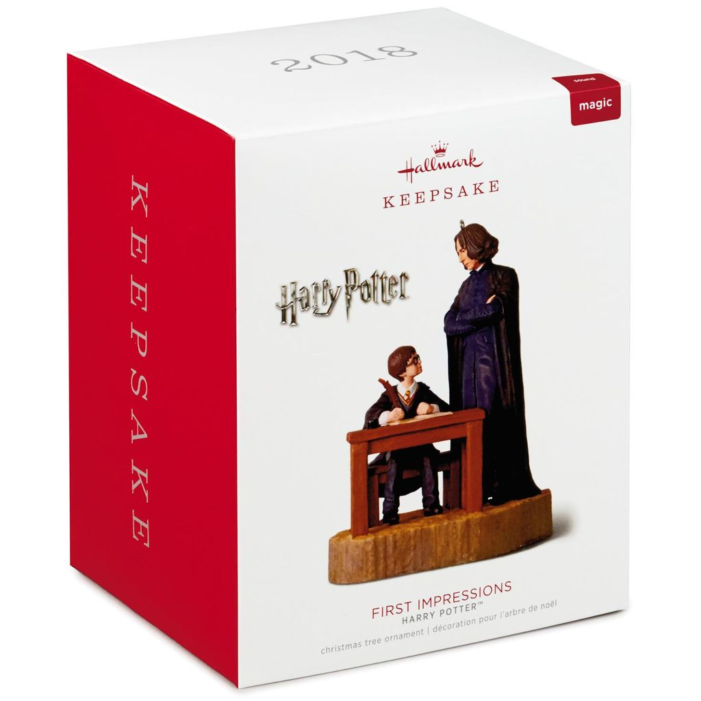 Hallmark Keepsake 2018 Harry Potter™ First Impressions Ornament With Sound