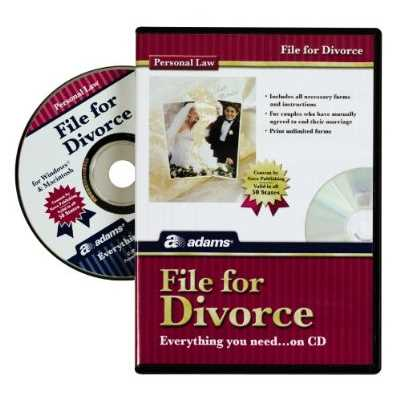 Adams Business Forms File For Divorce Compact Disc (Set of 8) (Set of 8)