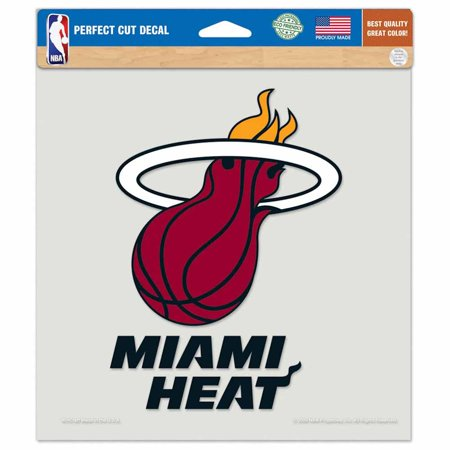 Miami Heat Die-cut Decal - 8