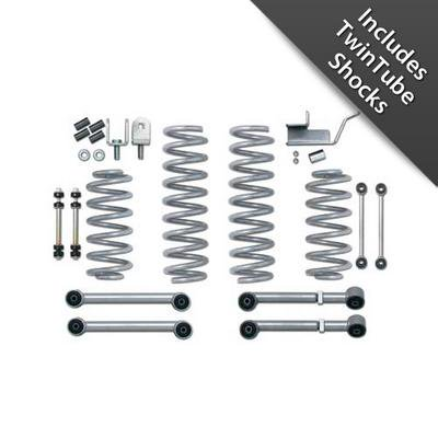 Rubicon Express 3.5 Inch Super-Ride Short Arm Lift Kit with TwinTube Shocks -