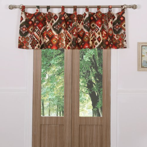Greenland Home Fashions Folk Festival Window Valance
