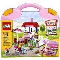 Young Builders Pink Suitcase Set LEGO 10660