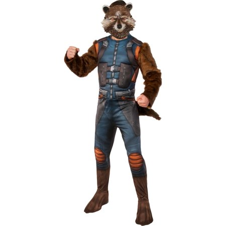 Guardians of the Galaxy Vol.2 Rocket Adult Costume, Standard - image 1 de 1