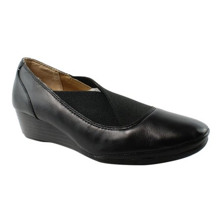 - Softspots Womens  Black Platform & Wedges Heels Size 7.5 New