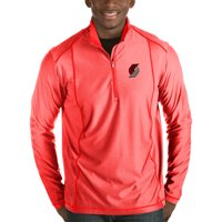 9f37a8703c0 Product Image Portland Trail Blazers Antigua Tempo Half-Zip Pullover Jacket  - Red