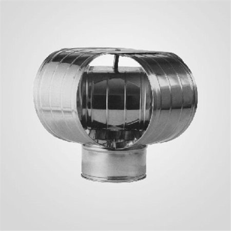 Lindemann 140182 8 Inch x 12 Inch Oval Vacu-Stack Chimney Cap ()