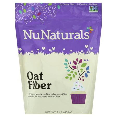 NuNaturals Nunaturals  Oat Fiber, 1 lb (Oat Fiber)