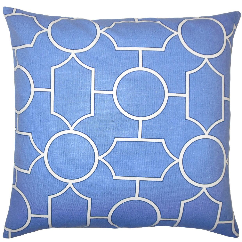 The Pillow Collection Samoset Geometric Throw Pillow Cover