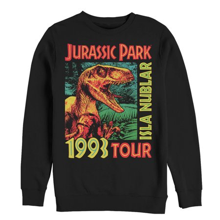Jurassic Park Men's Raptor '93 Isla Nublar Tour Sweatshirt