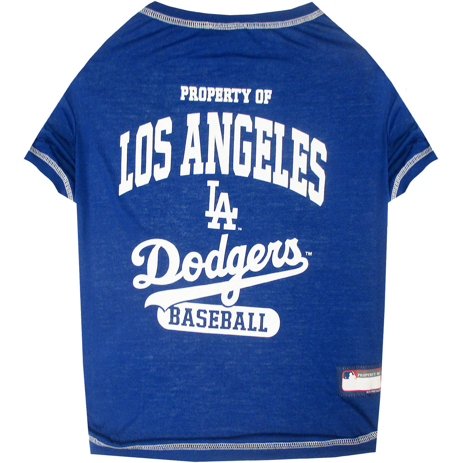 Pets First MLB Los Angeles Dodgers Pet Tee Shirt