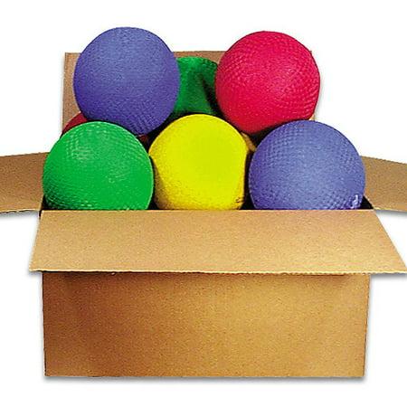 8 1 2   Playground Ball Rainbow Set